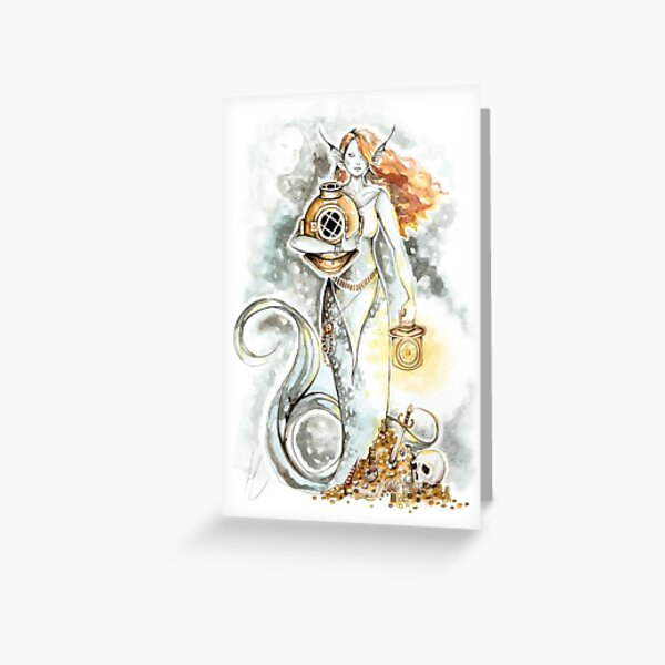 Treasures of the Deep Greeting Card
