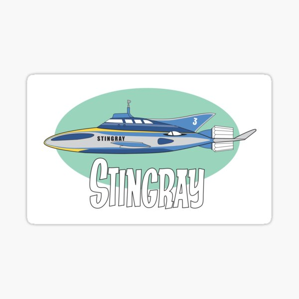 Stingray Sticker