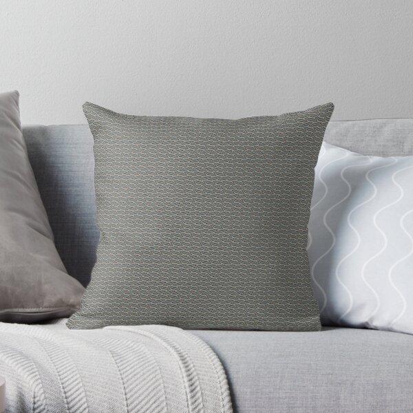 textile design, floor pillows Throw Pillow