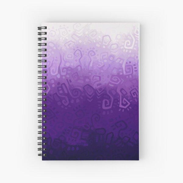 Purple gradient Spiral Notebook