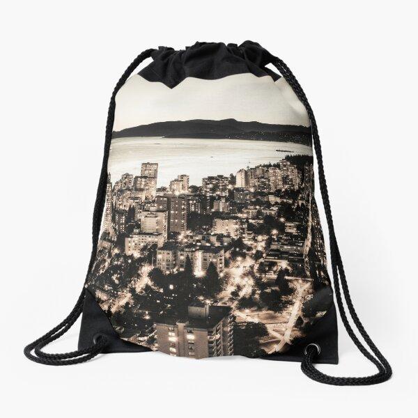 Passionate English Bay Vancouver Drawstring Bag