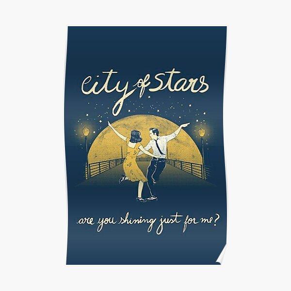 La ville des étoiles: la terre Poster
