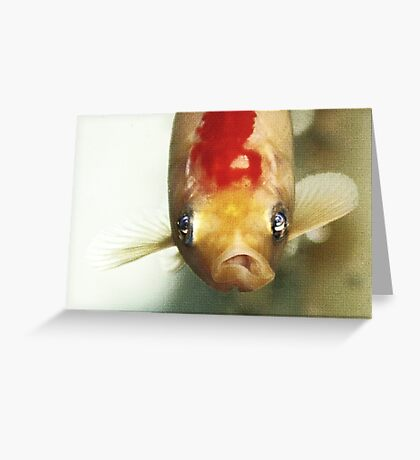 All Tanked Up Greeting Card