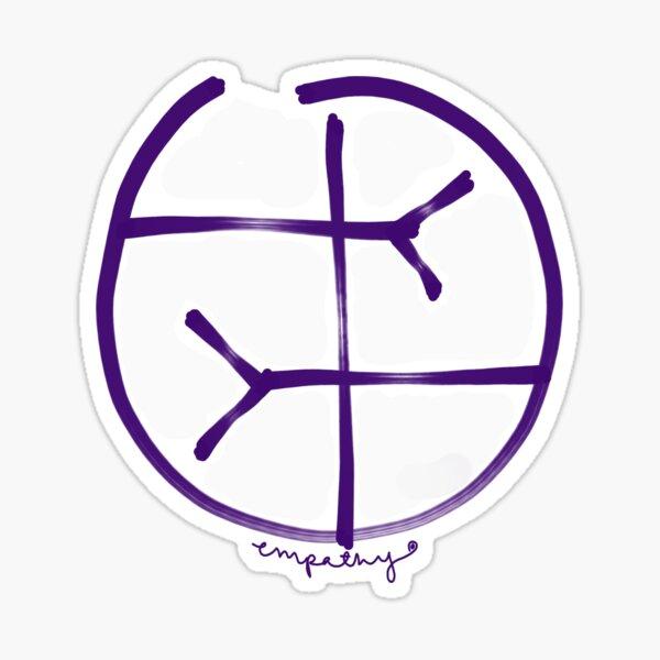 empathy symbol Sticker