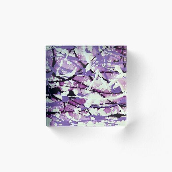 Garden Pixies Acrylic Block