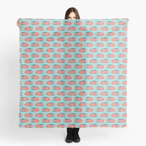 CORAL REEF FISH Scarf