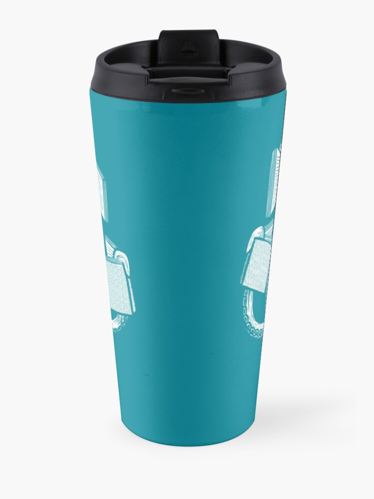 Alternate view of Armed With Knowledge Travel Mug