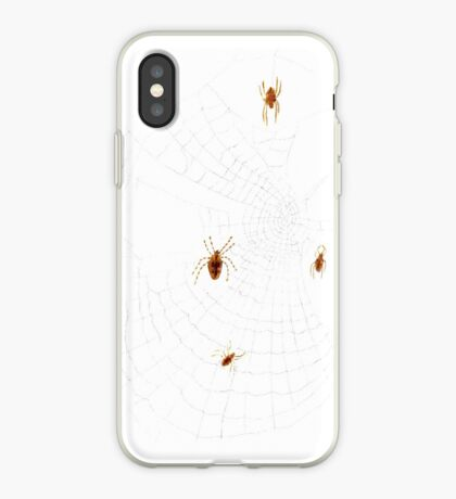 Spiders on the Web iPhone Case
