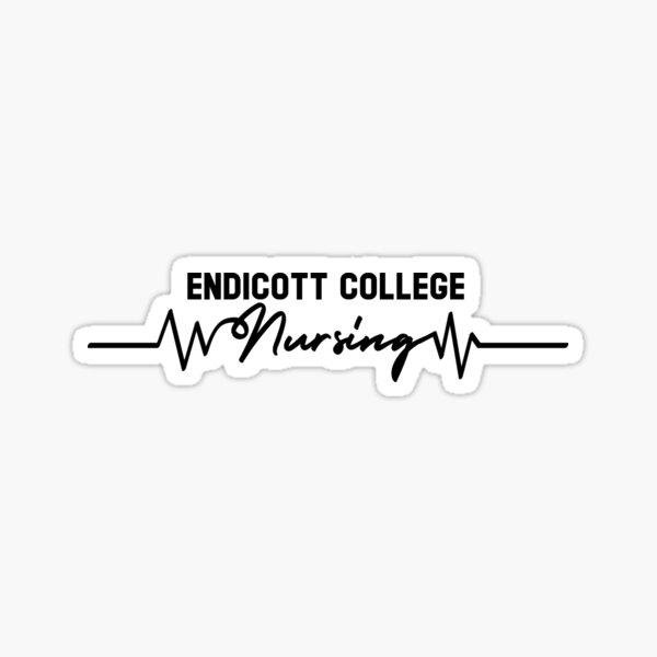 Endicott College Nursing Sticker