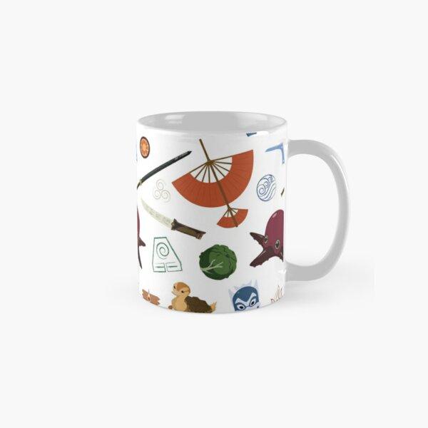 Avatar Medley- White Background Classic Mug