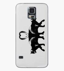 Funda/vinilo para Samsung Galaxy Gatos siameses