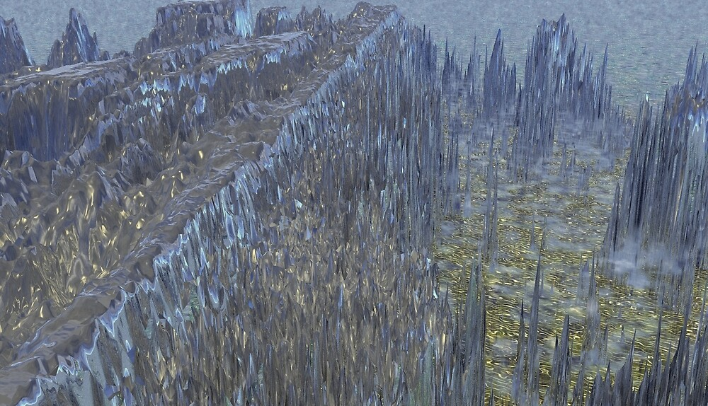 Ancient Defensive Wall by XadrikXu