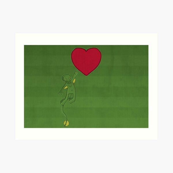 The Love of Cthulhu Art Print
