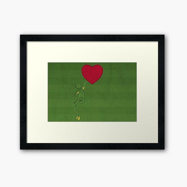 The Love of Cthulhu Framed Art Print