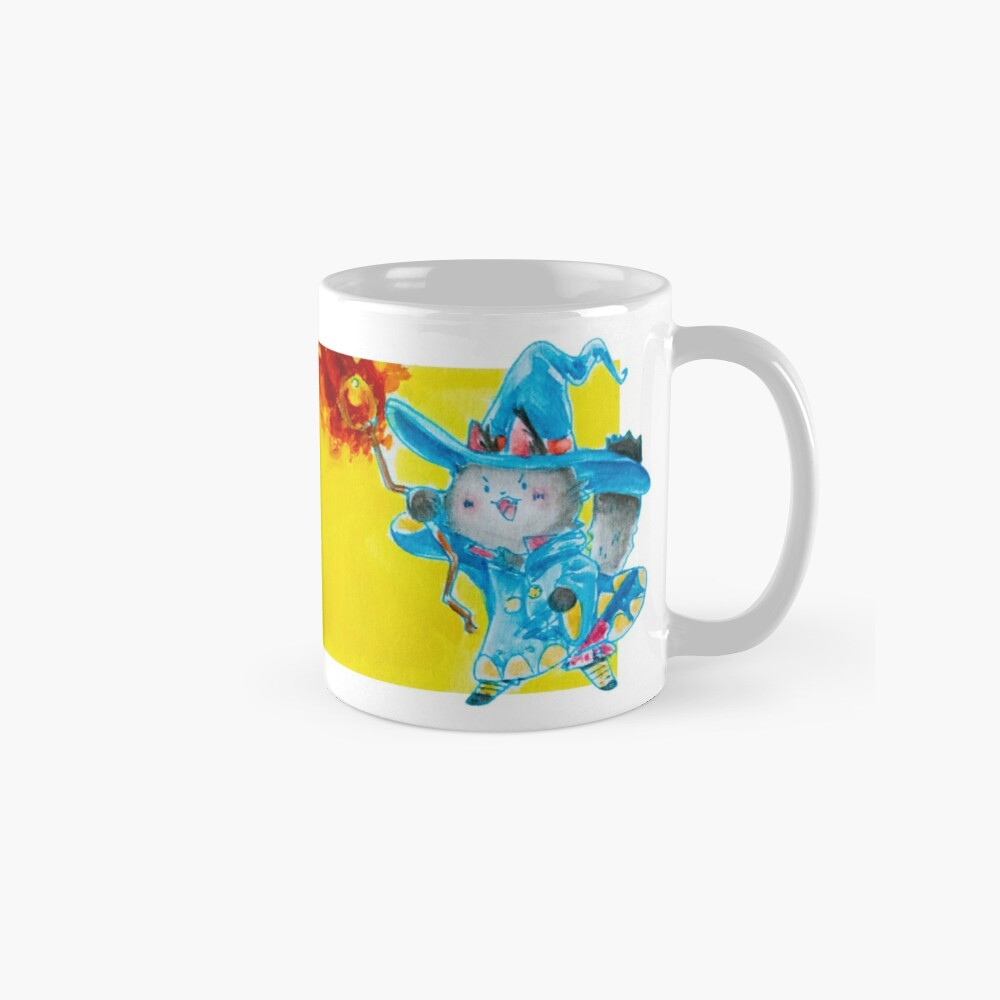 cat wizard Mugs