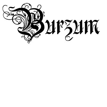 Burzum Logo by Carrotttt