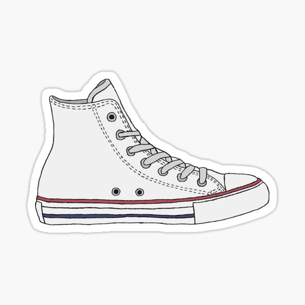 High Top Sneaker - Converse Sticker