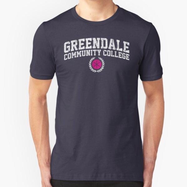 Greendale Community College (Variant) Slim Fit T-Shirt