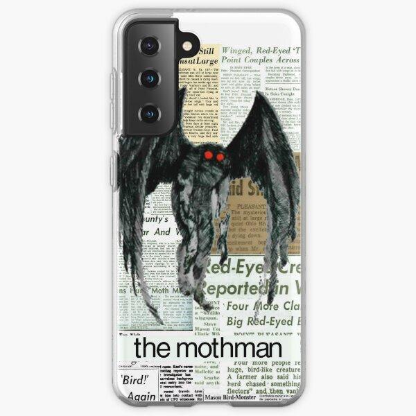 mothman newspaper articles Samsung Galaxy Soft Case