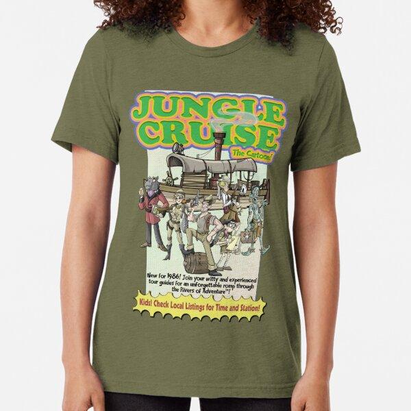Jungle Cruise, The Cartoon! Tri-blend T-Shirt