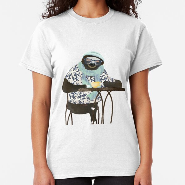 Hipster Sloth Classic T-Shirt