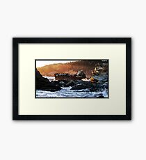 At The Water II Framed Print