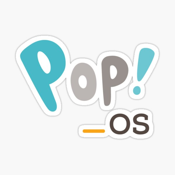 Pop!_OS logo Sticker