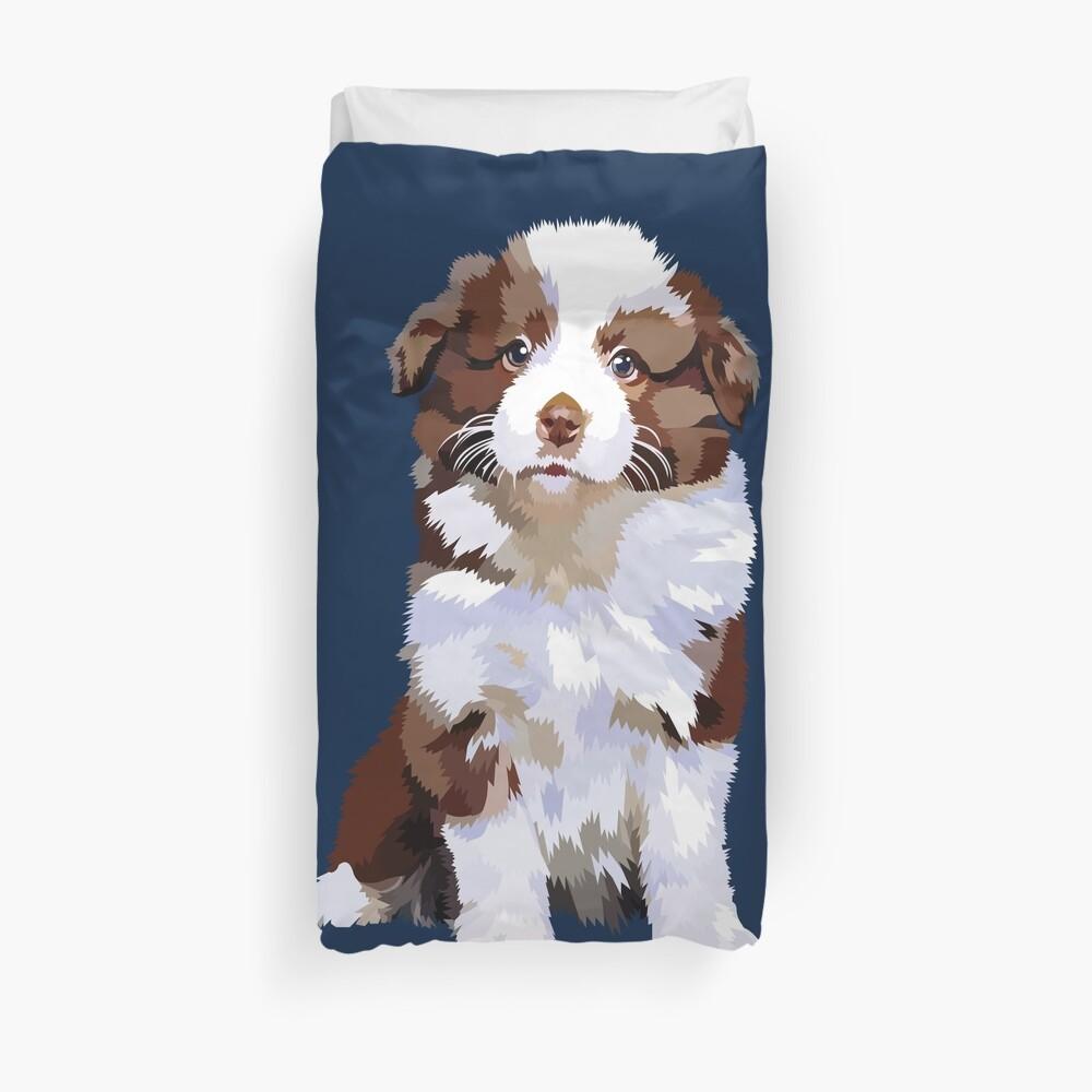 Adorable puppy Duvet Cover