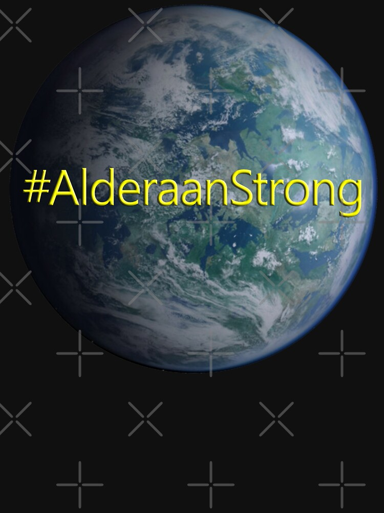 Alderaan Strong by Thogek