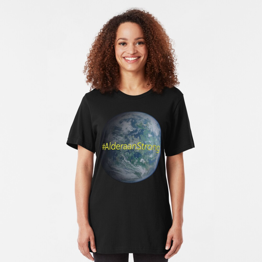 Alderaan Strong Slim Fit T-Shirt