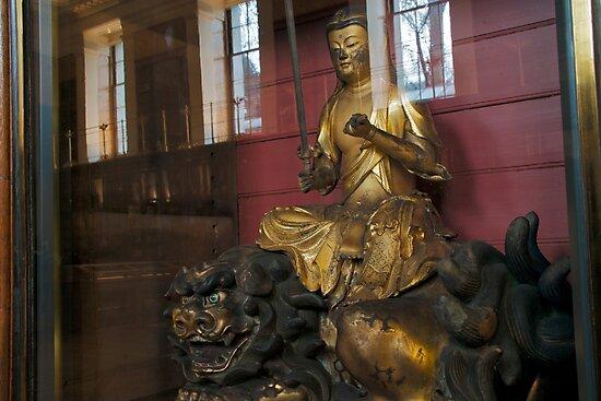 Monju, the Bodhisatta of wisdom by Sparklerpix