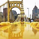 Reflection Of Clemente Bridge by carlacardello
