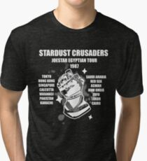 Stardust Crusaders: Joestar Egyptian Tour 1987 Tri-blend T-Shirt