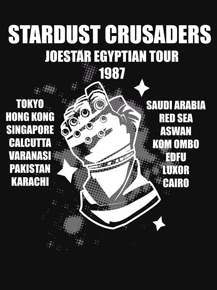 TShirtGifter presents: Stardust Crusaders: Joestar Egyptian Tour 1987   Unisex T-Shirt