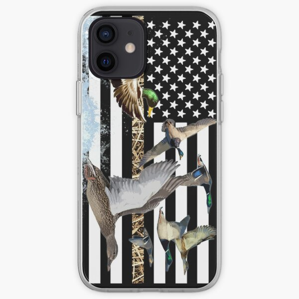 Ducks Flying (Camouflage) iPhone Soft Case