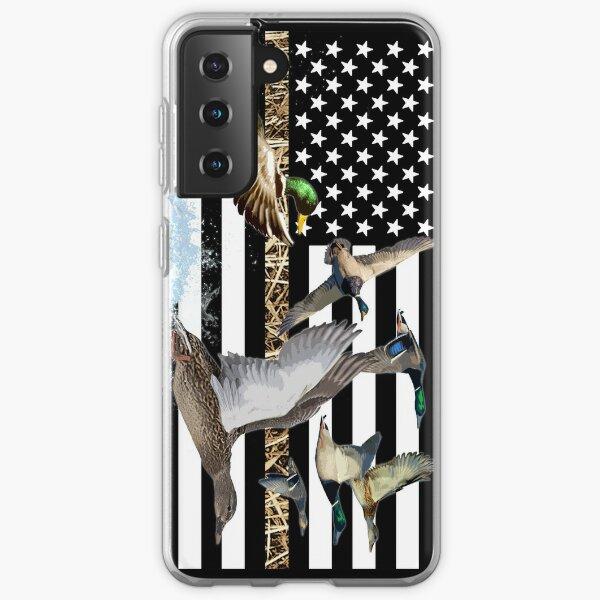 Ducks Flying (Camouflage) Samsung Galaxy Soft Case