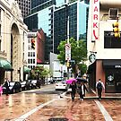 Rainy Day In Downtown Pittsburgh by carlacardello
