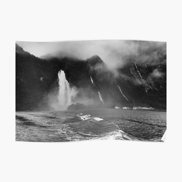 Milford Sound Harbour Poster