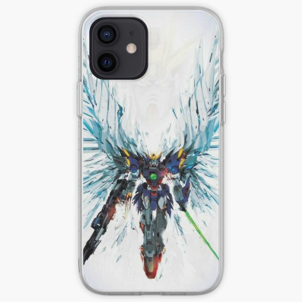 Gundam Blue Wings iPhone Soft Case