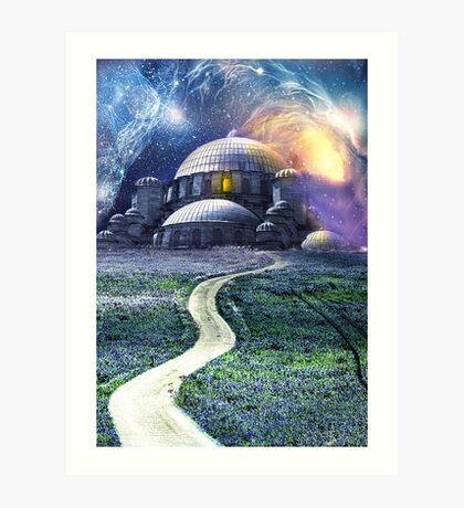 Celestial Journies Art Print