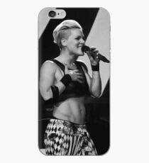 Singen und lächeln iPhone-Hülle & Cover