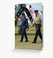 Flying Legends Greeting Card