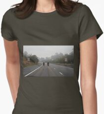 Motorcycle Series #3 - 110 Km Womens Fitted T-Shirt