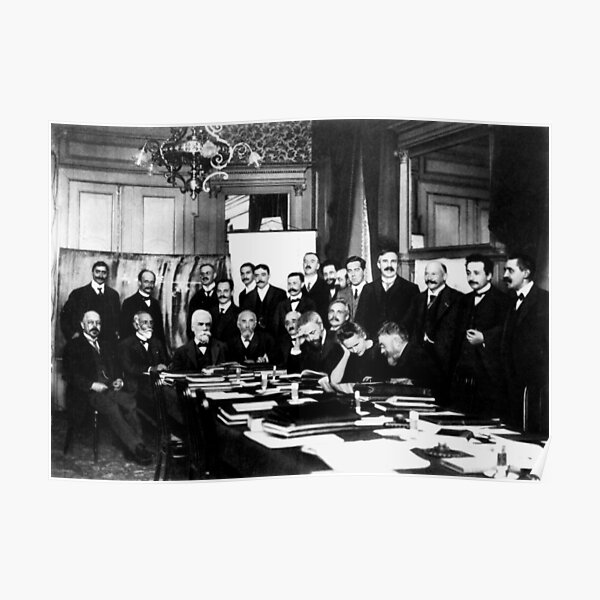 Solvay Conference 1911 Poster