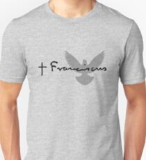 Camiseta ajustada Papa Francisco Signature Dove
