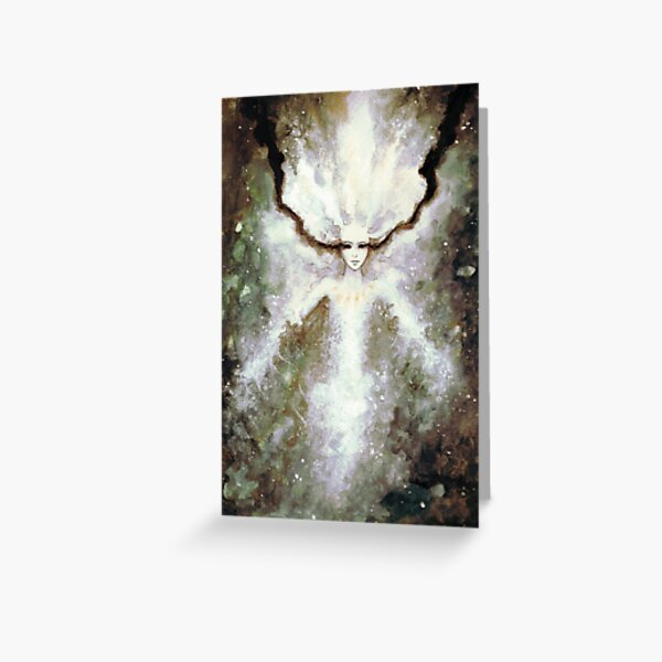 Paintwater Sprite Greeting Card