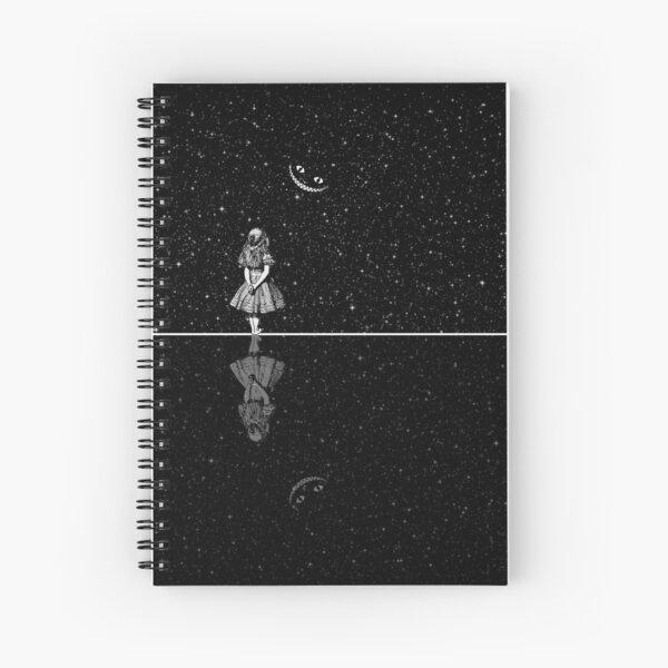 Alice In Wonderland Starry Night Spiral Notebook