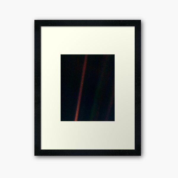Pale Blue Dot Framed Art Print