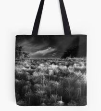 The Meeting of Mare's Tails BW Tote Bag