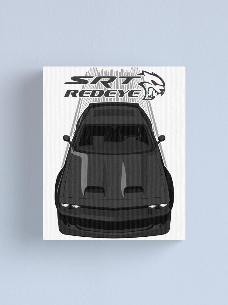 Alternate view of Challenger Hellcat Redeye - Black Canvas Print